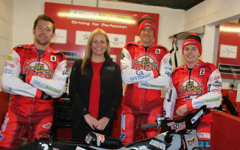 ​Supply Technologies helps Glasgow Tigers roar on the speedway track